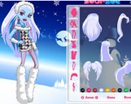 Monster High Abbey Bominable dressup j�t�k