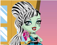 Monster High Chibi Frankie Stein Monster High j�t�kok ingyen