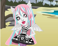 Monster High Chibi Rochelle dress up Monster High j�t�kok