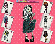 Monster High coloring Monster High j�t�kok