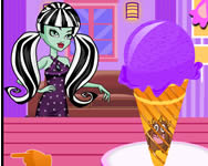 Monster High ice cream Monster High j�t�kok