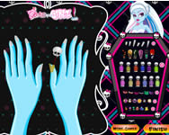 Monster High manicure játék