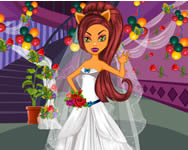 Monster wedding dressup online j�t�k