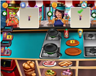 Monster High - Cooking fast hotdogs and burgers craze