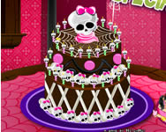 Monster High special cake online játék