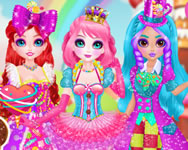 Monster High - Princess sweet candy cosplay